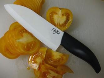 coltello ceramica verdure