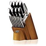 Ceppo di coltelli da cucina Chicago Fusion Forged 18