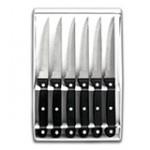 Lacor 39060, Set 6 coltelli da carne con lama seghettata